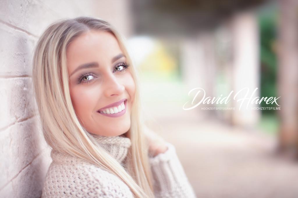 Portrait Fotos in Cottbus im Branitzer Park mit David Harex