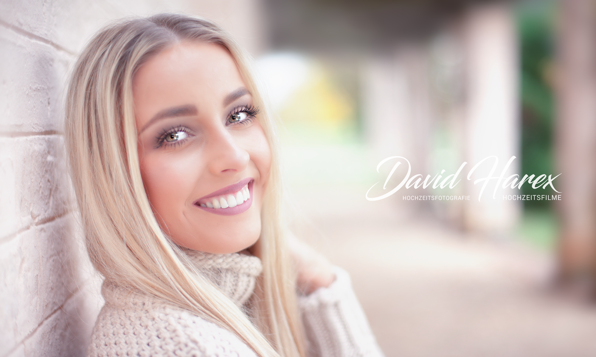 Portrait Fotos in Cottbus im Branitzer Park mit David Harex