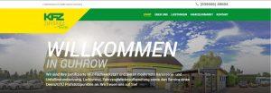 Screenshot WordPress Webseite für KFZ Troppa inklusive einem professionellen Fotoshooting